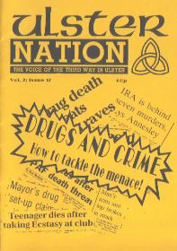 Ulster Nation 12 cover.  Drugs and Crime  - How to tackle the menace!